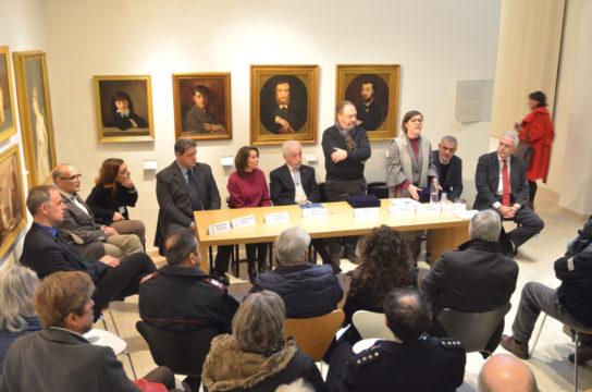 inaugurazione della mostra su Cassioli_foto2
