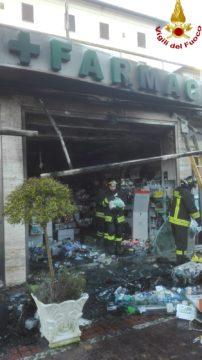 incendio farmacia Chianciano