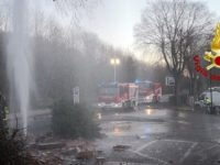 incidente acqua e gas viale toselli