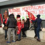 protesta lavoratori autogrill montepulciano 2
