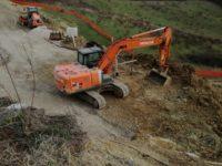 Monteriggioni lavori Sp119 Uopini-Badesse