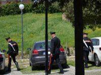 carabinieri controlli a piedi