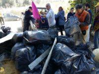 rifiuti e volontari
