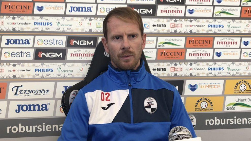 Giuliano Lamma, vice allenatore del Siena