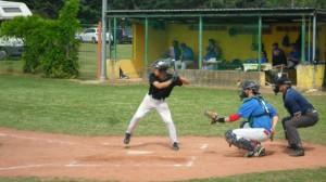 Baseball Davide Drusiani in gran spolvero in battuta_800x450