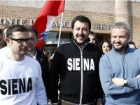 Giusti, Salvini e Borghi