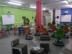 L'aula 3.0 del Sarrocchi