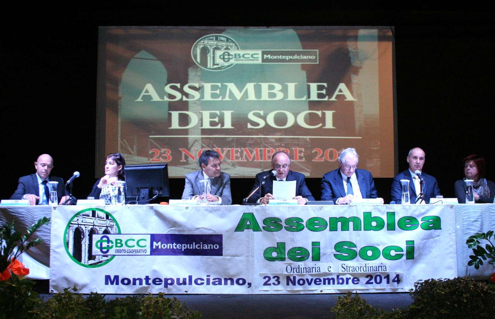 Bcc Montepulciano Nuova Sede il sì della bcc montepulciano alla fusione con bancasciano