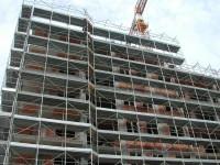 cantiere edile ponteggio palazzo