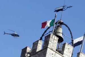 polizia elicottero torre